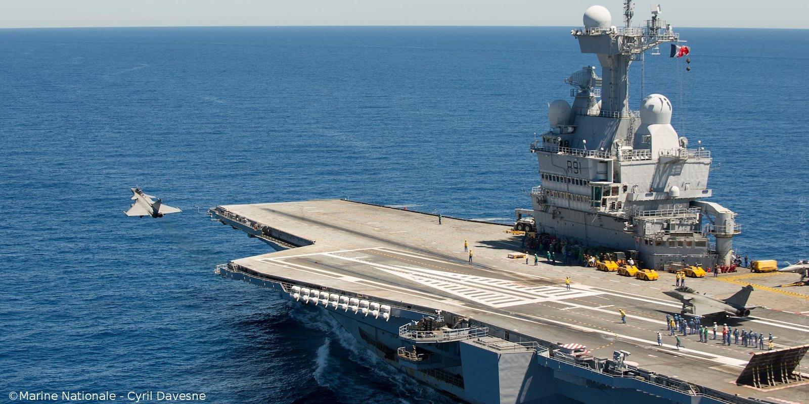 Le Porte Avions Charles De Gaulle Un Atout Stratégique Junior
