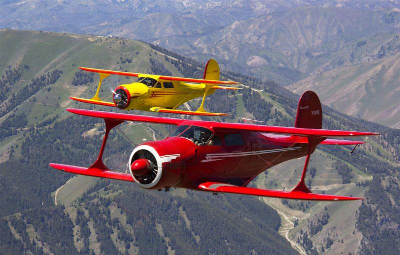 Article aviation Junior ESTACA Paris Saclay Beechcraft Staggerwing